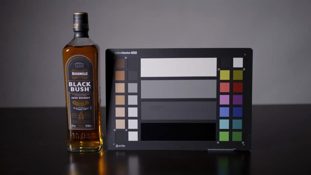 video colour chart